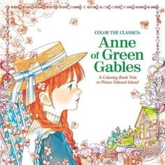 anne of green gables a coloring book visit to avonlea paperback