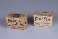 There hasn't been a more fitting Kodak moment for theGeorge Eastman Museumthan when they recently purchased two remarkably rare boxes of Kodak