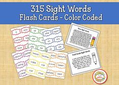 Sight Word Flash Cards, Dolch Sight Words, Flashcards Printables, Sight Words Flashcards, Elementary Sight Words Learning To Write, Writing Practice, Learning Resources, Teacher Resources, Teaching Ideas, Sight Word Bingo, Sight Word Flashcards, Dolch Sight Words, Name Tracing Worksheets