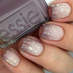 Image result for ombre glitter nail art