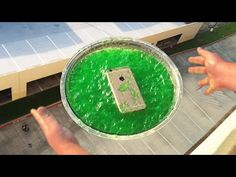 Can JELL-O Protect iPhone 6 From 100 FT Drop onto Concrete? - GizmoSlip - YouTube