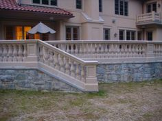 Cast Stone Balustrade Custom Color