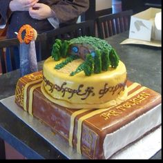 Lord of the Rings cake!