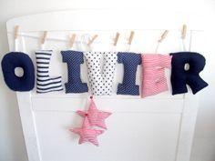 NEU+<3+süße+Verzierung+von+Namen+von+Babypullover-Dekoration+auf+DaWanda.com