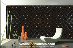 Buy abstract wallpaper pattern and retro wallpaper for modern home interiors using easily removable wallpaper. Black Wallpaper For Walls, Bright Wallpaper, Wood Wallpaper, Green Wallpaper, Retro Wallpaper, Modern Wallpaper, Textured Wallpaper, Pattern Wallpaper, Leather Pattern