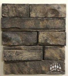 Dry Stack Ledge (Color: Walnut) www.KodiakMountain.com  Kodiak Mountain Stone Manufactured Stone, Natural Stones, Hardwood Floors, Mountain, Profile, Texture, Projects, Color, Inspiration