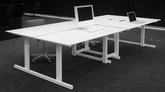 grID Desk (by Bulo Designers ) Office Furniture, Office Desk, Office Spaces, Ping Pong Table, Grid, Minimalism, Dining Table, Architecture, Home Decor