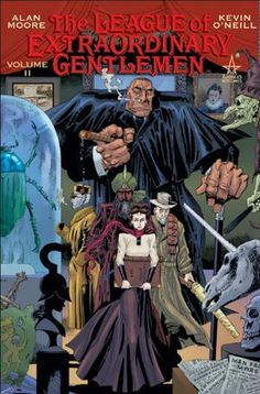 The League of Extraordinary Gentlemen graphic novel by the legendary Alan Moore! Find it at Huntington Memorial Library! 607-432-1980