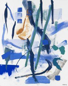 Abstract landscape, oil on paper, 90 x 70 cm. Monochrome Color, Abstract Words, New Words, Abstract Landscape, Holland, Oil, Portrait, Paper, Artwork