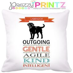 #Personalised dog breed labrador #history pet cushion gift #christmas birthday �,  View more on the LINK: 	http://www.zeppy.io/product/gb/2/291488041664/