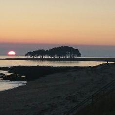 Depuis la côte de Locmariaquer (56)
