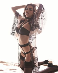 myla lingerie.  I've yet to buy anything but I'm always looking at their website. Such beautiful lingerie