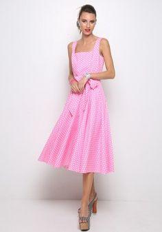 Πουά μίντι φόρεμα Dresses, Fashion, Vestidos, Moda, Fashion Styles, Dress, Fashion Illustrations, Gown, Outfits
