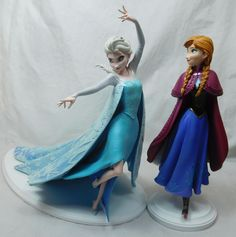 WDAC Walt Disney Archives Frozen ELSA Anna Maquette Figurine 4051307 4051308    eBay