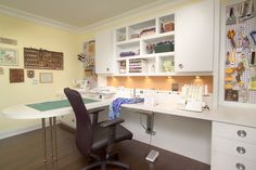 sewing room ideas | GREAT sewing room! | organization Ideas