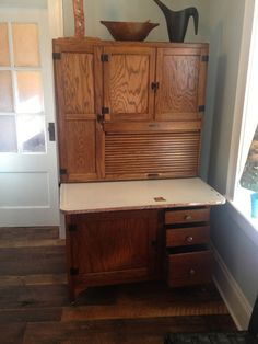 Hoosier cabinet parts - nameplates, hinges, latches, Sellers ...