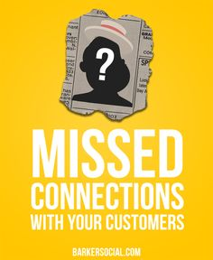 Are you missing opportunities to connect with your customers?   #socialmedia #marketing #smallbusiness