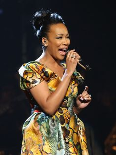 Vocalist Monica Brown  2012 BET Awards