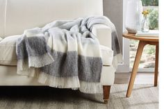 MOHAIR THROW - SCANDI