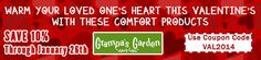 View our Latest Newsletter:  WARM YOUR LOVED ONE'S HEART THIS VALENTINE'S WITH THESE COMFORT PRODUCTS - Save 10% off select products, use coupon code: VAL2014 at checkout!