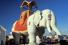 Best NJ day trips for kids Lucy the Elephant in Margate.