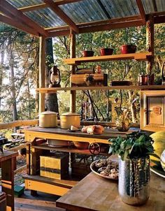 Basic Kitchen Area Concepts For Inside or Outside Kitchen areas – Outdoor Kitchen Designs Small Outdoor Kitchens, Outdoor Kitchen Countertops, Outdoor Kitchen Bars, Outdoor Kitchen Design, Basic Kitchen, Design Your Kitchen, Kitchen Layout, Kitchen Designs, Kitchen Ideas