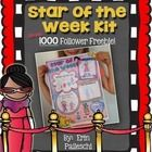 FREE!! Star of the Week Kit!  Star of the Week Poster, Parent Letter, Oral Presentation Rubric.