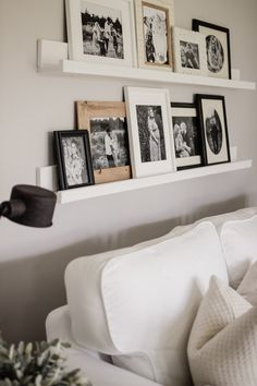 How To Make One In Under 10 Minutes and 10 Dollars, Way Cheaper Than Ikea and Way Better Quality. Simple Way To Hang Pictures On Your Wall For a Gallery Wall Room Decor, Gallery Wall Living Room, Diy Home Decor, Living Room Wall, Gallery Wall Shelves, Home Diy, Home Decor, Home Furnishings, Ikea Pictures
