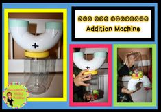 The Primary Pack: Addition Machine: DIY
