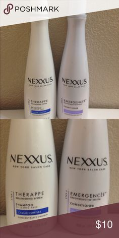 Nexus shampoo and condition new 10$ Get both for 10$$ Other