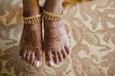 Gorgeous henna feet