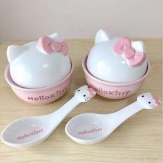 moodboard full of vaporewave and neon vibes Hello Kitty Kitchen, Hello Kitty House, Hello Kitty Items, Sanrio Hello Kitty, Hello Kitty Things, Little Twin Stars, Hello Kitty Collection, Kawaii Room, Cute Room Decor