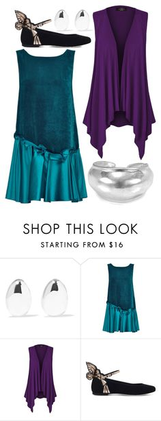 """""""Occamy"""" by avenueg ❤ liked on Polyvore featuring Sophie Buhai, Lattori, Sophia Webster and Robert Lee Morris"""