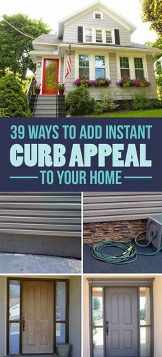 Easy DIY ideas for outside your home ~ Get that home ready to sell today! Christie Sweely RE/MAX Hometown Properties815-530-3223http://www.csweely.illinoisproperty.com/
