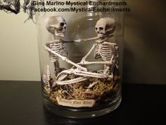 Dollar store skeletons
