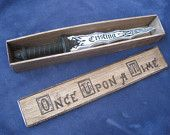 Customizable Dark One's Dagger - Once upon a time