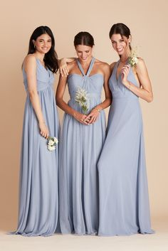 50 Bridesmaid Dresses She Won't Hate! | The Perfect Palette Bridesmaid Dresses Long Blue, Grey Bridesmaids, Tulle Bridesmaid Dress, Affordable Bridesmaid Dresses, Beautiful Bridesmaid Dresses, Wedding Dresses, Convertible Dress, Gowns, Modern