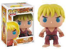 Street Fighter Ken Pop! Vinyl Figure