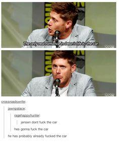 JENSEN DONT FUCK THE CAR