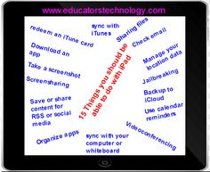 15 Things Every Teacher should Be Able to Do with Their iPad ~ Educational Technology and Mobile Learning