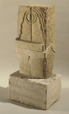 The Kiss, 1912 by Constantin Brancusi. Expressionism. sculpture. Philadelphia Museum of Art, Philadelphia, PA, USA