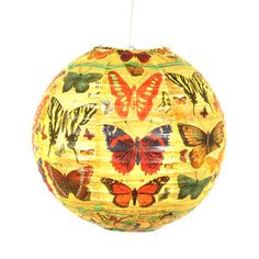 History Of The Butterfly Lantern, £10.50, now featured on Fab.