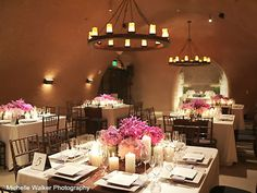 Centre piece and lighting