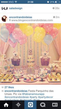 Inspiracao festa Baloes