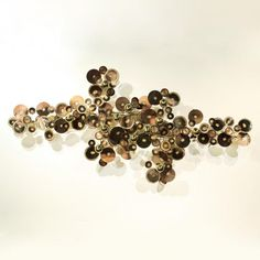 C. Jere Rain Drops Sculpture, ok I need a little shininess with my natural palette