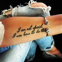 quotes tattooed on arms | Tattoo Quotes For Women On Arm