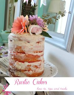 How To Make a Rustic Naked Cake
