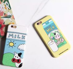 Lovely cow Case Cover for Apple iPhone 6 6S 6 Plus 6S Plus 160824-001