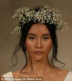 Femail highlights bridal trends you need for Fall 2018 | Daily Mail Online