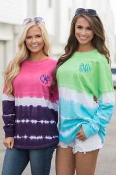 Personalized Tie Dye Sweatshirts